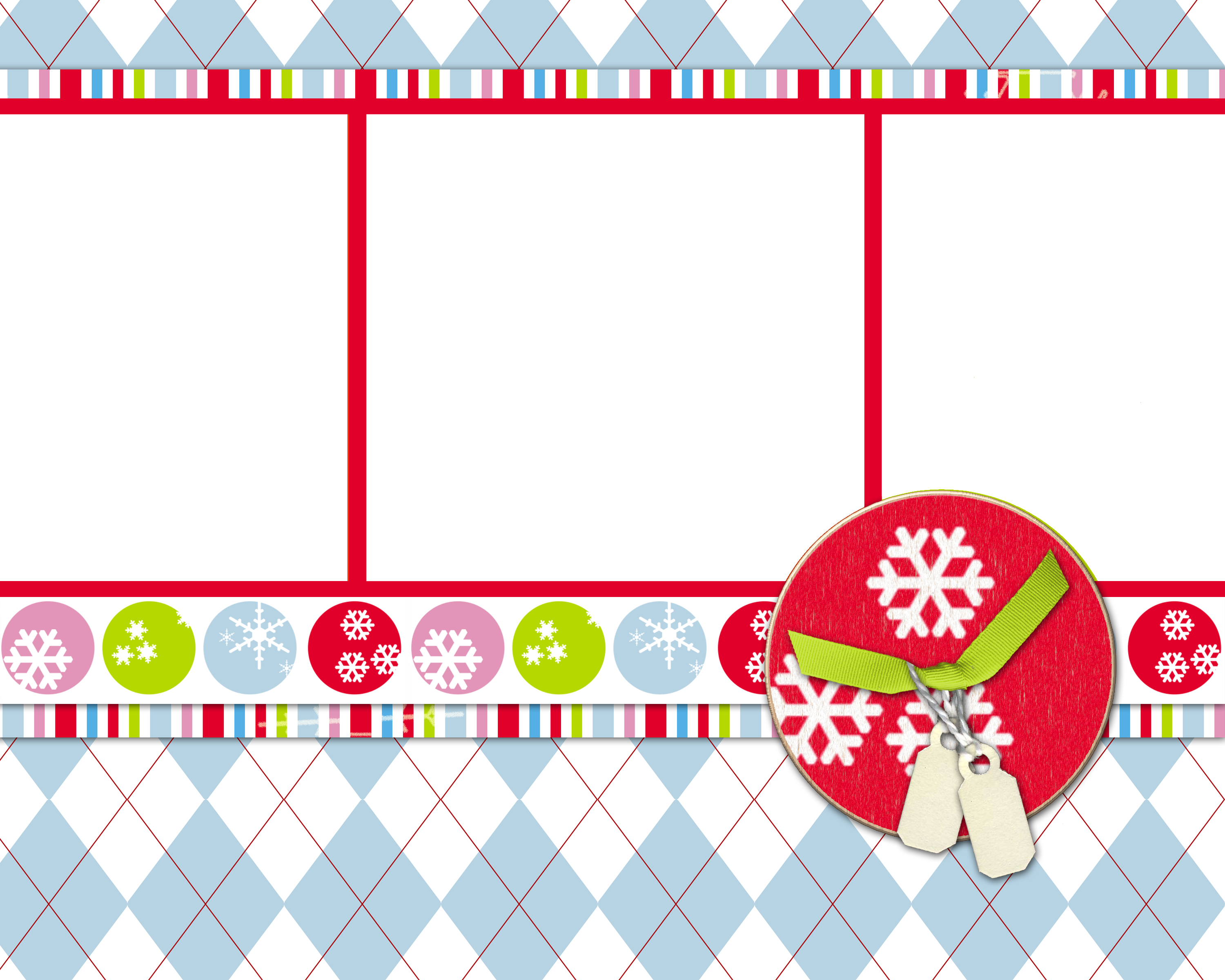 christmas collage template